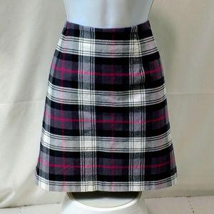 Tommy Hilfiger NWT 8 Skirt Plaid Pencil Straight G